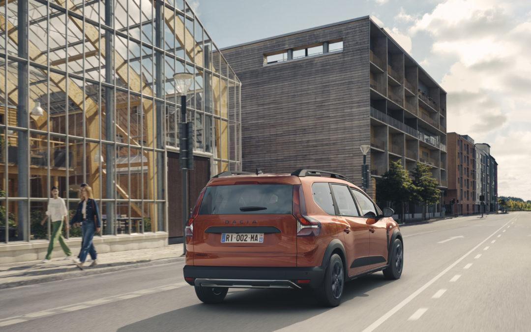 Ny syv sæders familiebil fra Dacia